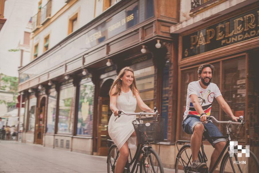 Un Save the Date sobre ruedas