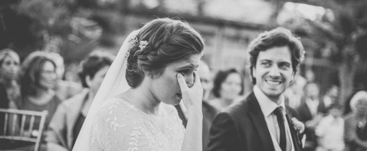 Emocionarse en una boda | FILHIN