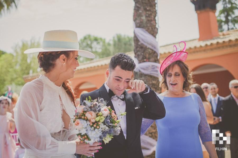Emocionarse en una boda