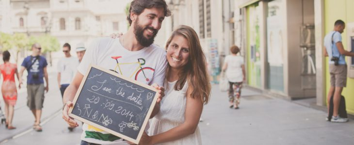 Un Save the Date sobre ruedas | FILHIN