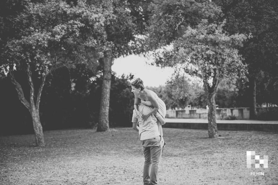 María & Nacho: Una preboda en el parque