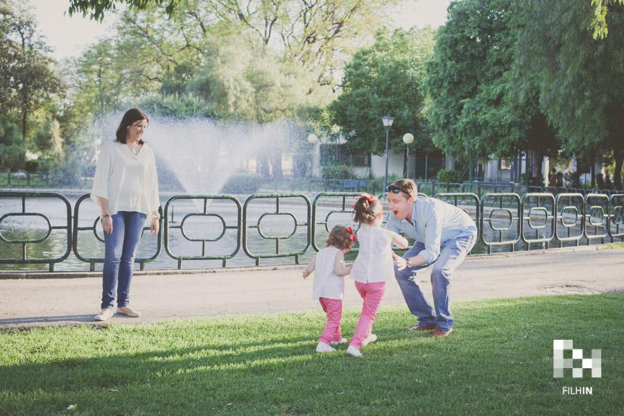 Sesión de familia de Bego, Pedro, Carlota & Paloma