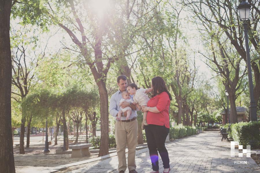 Sesión de familia de Javi, Ángela, Marcos & Javi