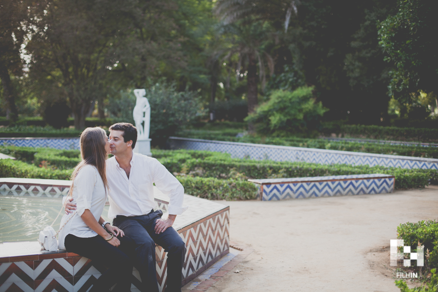 Love Session de Joao & Teresa en Sevilla