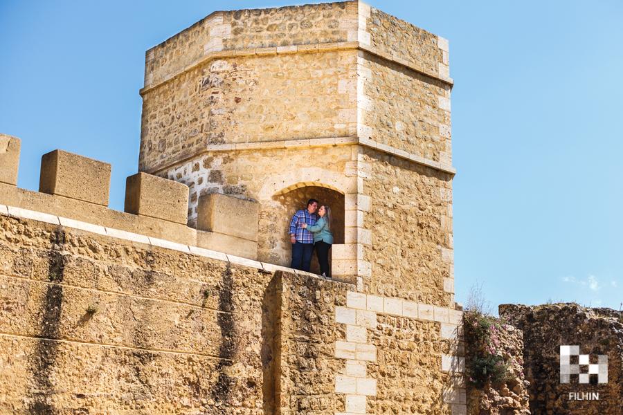 Preboda de Esperanza y Alejandro: El Castillo de Alcalá de Guadaíra