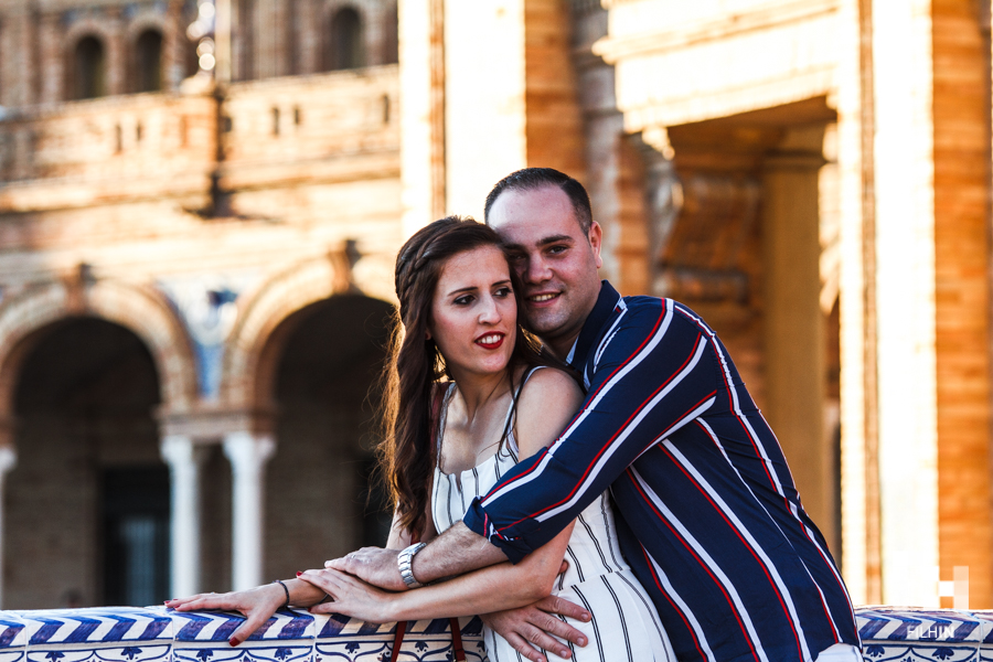 En una visita a Sevilla